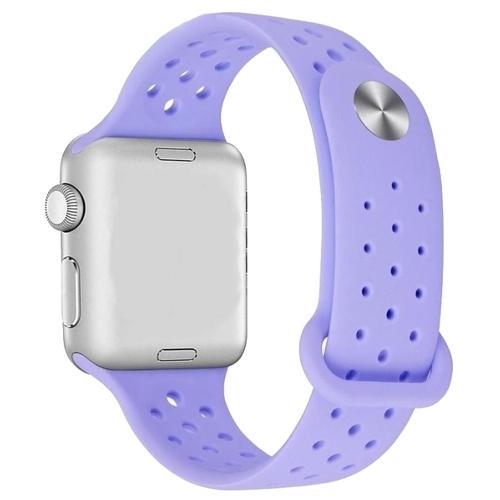 LDH Ремешок силиконовый с перфорацией для Apple Watch 38mm/40mm