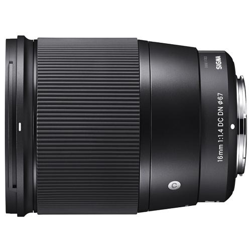 Объектив Sigma AF 16mm f/1.4 DC DN Contemporary Micro 4/3
