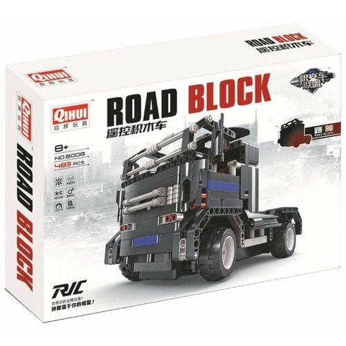 Электромеханический конструктор QiHui Auto Bricks Union 8008 Дорожный блок