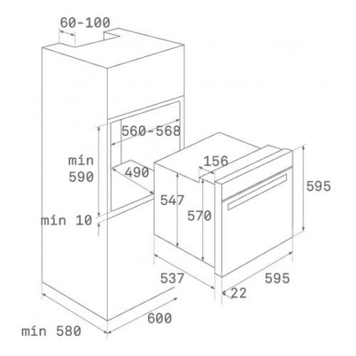 Электрический духовой шкаф TEKA HLB 840 STAINLESS STEEL (41560075)