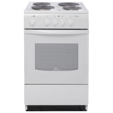 Плита De Luxe 5004.12э белый