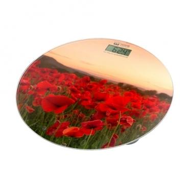 Весы Home Element HE-SC908 Красные маки