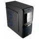 Компьютерный корпус AeroCool V3X Evil Blue Edition Black