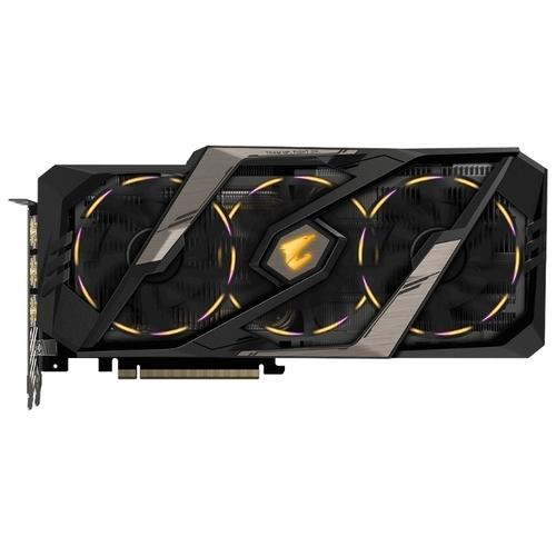 Видеокарта GIGABYTE GeForce RTX 2080 1845MHz PCI-E 3.0 8192MB 14000MHz 256 bit 3xHDMI 3xDisplayPort HDCP AORUS