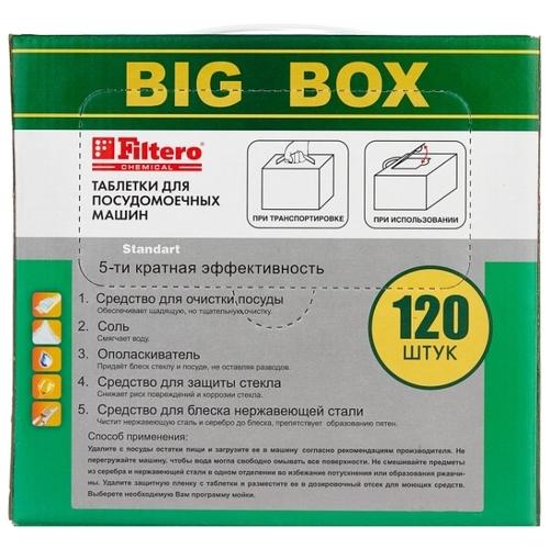 Filtero 5 в 1 таблетки для посудомоечной машины