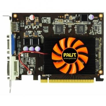 Видеокарта Palit GeForce GT 630 810Mhz PCI-E 2.0 1024Mb 3200Mhz 128 bit DVI HDMI HDCP