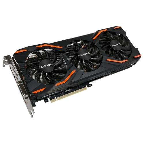 Видеокарта GIGABYTE GeForce GTX 1080 1657MHz PCI-E 3.0 8192MB 10010MHz 256 bit DVI HDMI HDCP