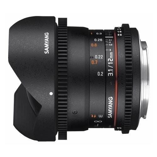 "Объектив Samyang 12mm T3.1 ED AS NCS VDSLR Fish-eye Pentax K"""