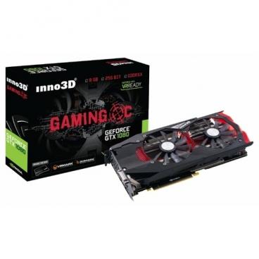 Видеокарта INNO3D GeForce GTX 1080 1708Mhz PCI-E 3.0 8192Mb 10000Mhz 256 bit DVI HDMI HDCP Gaming OC