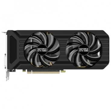 Видеокарта Palit GeForce GTX 1080 1620Mhz PCI-E 3.0 8192Mb 10000Mhz 256 bit DVI HDMI HDCP Dual OC