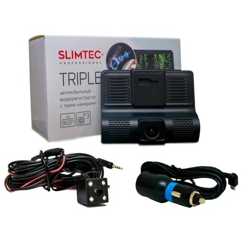 Видеорегистратор Slimtec Triple, 3 камеры