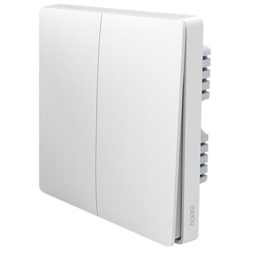 Выключатель с электронной коммутацией Aqara QBKG03LM, белый