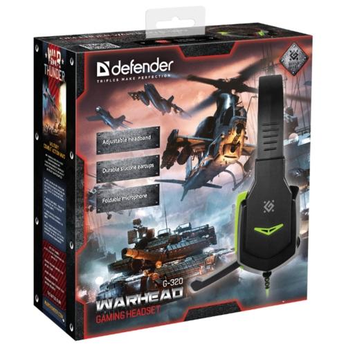Компьютерная гарнитура Defender Warhead G-320