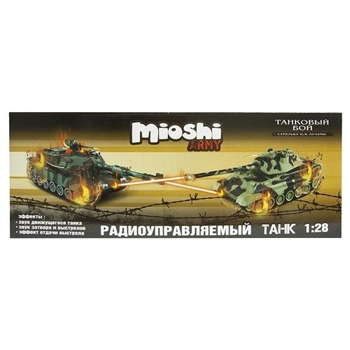 Танк Mioshi Tech Tiger (MAR1207-021) 1:28
