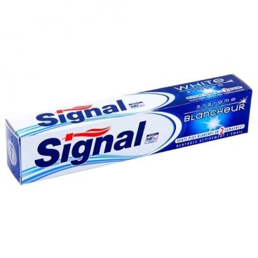 Зубная паста Signal Plus отбеливающая