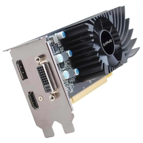 Видеокарта Sapphire Pulse Radeon RX 550 1206Mhz PCI-E 3.0 4096Mb 6000Mhz 128 bit DVI HDMI HDCP Low Profile