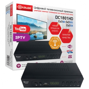 TV-тюнер D-COLOR DC1801HD