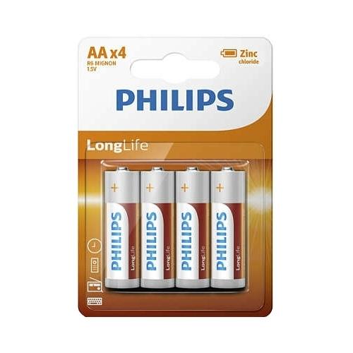 Батарейка Philips LongLife AA
