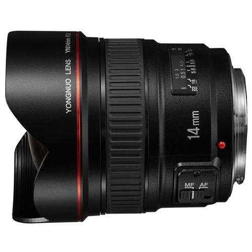 Объектив YongNuo 14mm f/2.8 Canon EF