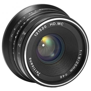 Объектив 7artisans 25mm f/1.8 Micro 4/3