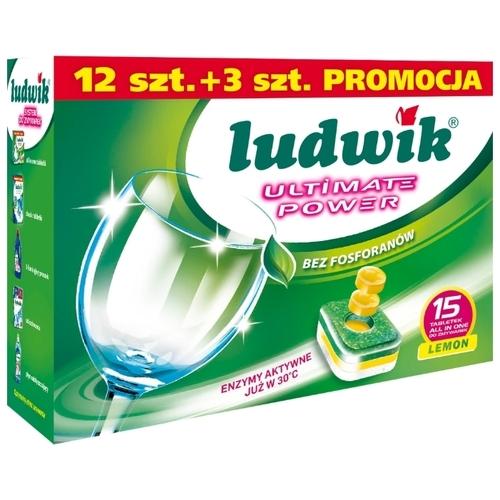 LUDWIK All in one таблетки для посудомоечной машины