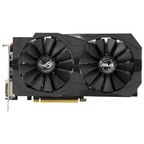 Видеокарта ASUS GeForce GTX 1050 Ti 1290MHz PCI-E 3.0 4096MB 7008MHz 128 bit 2xDVI HDMI DisplayPort HDCP Strix Gaming