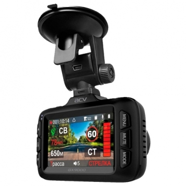 Видеорегистратор ACV GX9000, GPS