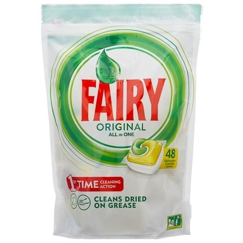 Fairy Original All in 1 капсулы (лимон) для посудомоечной машины