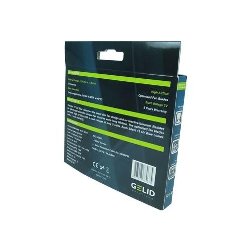 Система охлаждения для корпуса GELID Solutions Slim 12 UV Blue