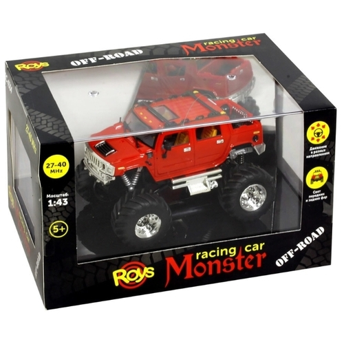 Монстр-трак Roys RC-4304-1/2 1:43 11 см