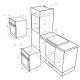 Электрический духовой шкаф MAUNFELD MEOC 674S2