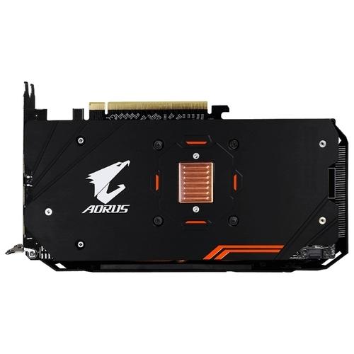 Видеокарта GIGABYTE Radeon RX 580 1380Mhz PCI-E 3.0 4096Mb 7000Mhz 256 bit DVI HDMI HDCP Aorus