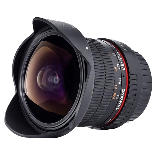 "Объектив Samyang 12mm f/2.8 ED AS NCS Fish-Eye Fujifilm X"""