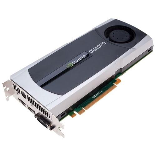 Видеокарта HP Quadro 5000 513Mhz PCI-E 2.0 2560Mb 3000Mhz 320 bit DVI