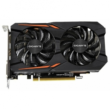 Видеокарта GIGABYTE Radeon RX 560 1300MHz PCI-E 3.0 4096MB 7000MHz 128 bit DVI HDMI HDCP Gaming OC (rev.1.0)