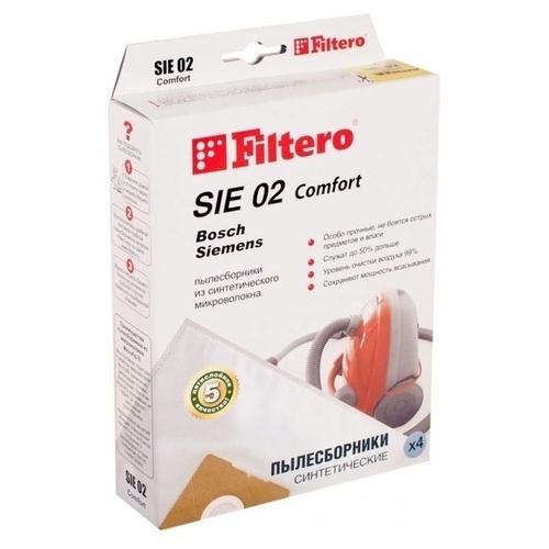 Filtero Мешки-пылесборники SIE 02 Comfort