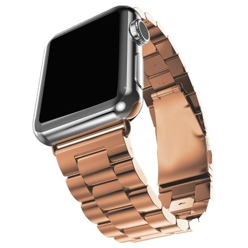 GSMIN Стальной ремешок Classic Collection для Apple Watch 42/44mm