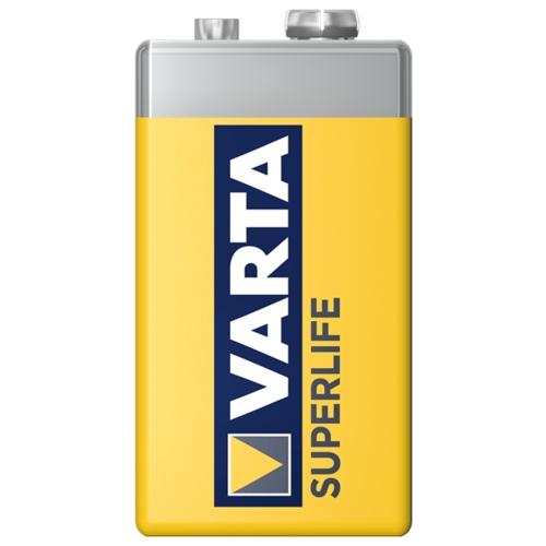 Батарейка VARTA SUPERLIFE 9V Крона