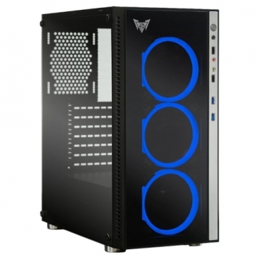 Компьютерный корпус CROWN MICRO CM-GS10B w/o PSU Black