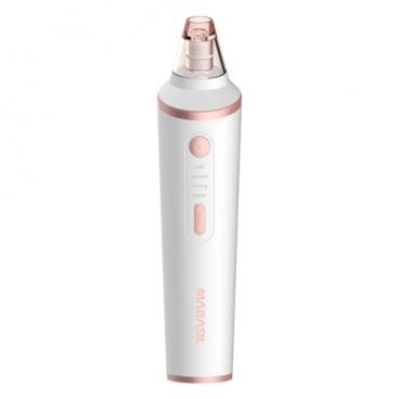 Marasil Прибор для микродермабразии и вакуумной очистки Derma, белый\розовое золото