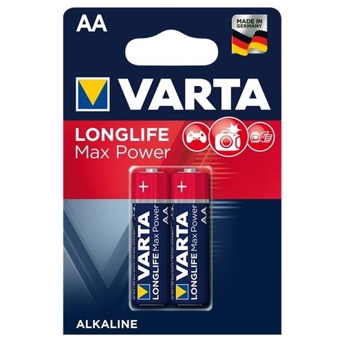 Батарейка VARTA LONGLIFE Max Power AA