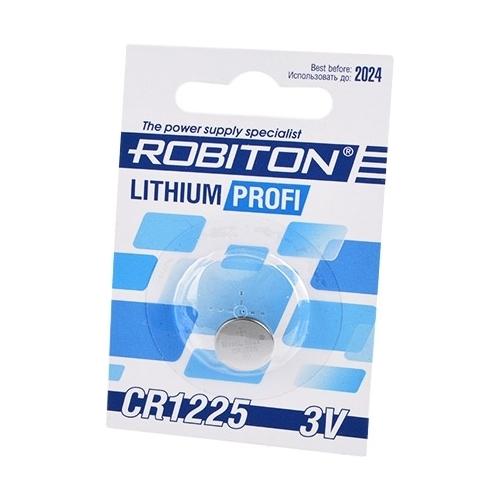 Батарейка ROBITON Lithium Profi CR1225