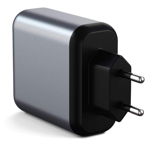 Сетевая зарядка Satechi 30W Dual-Port Wall Charger