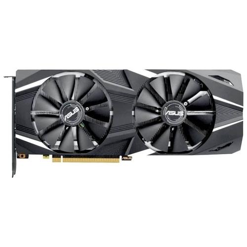 Видеокарта ASUS GeForce RTX 2080 1515MHz PCI-E 3.0 8192MB 14000MHz 256 bit HDMI HDCP Dual Advanced