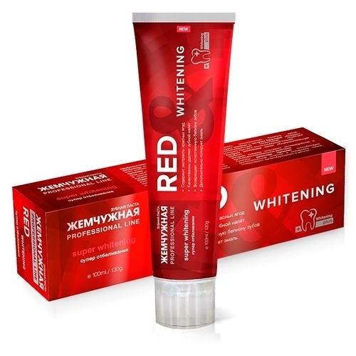 Зубная паста Жемчужная Professional line Red&Whitening