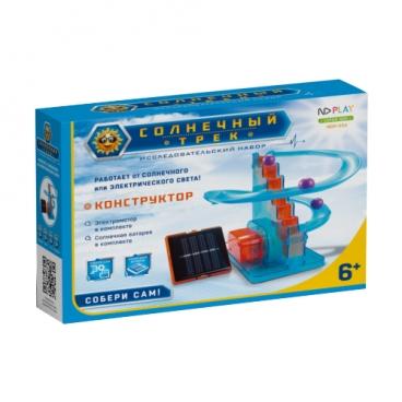Электромеханический конструктор ND Play На солнечной энергии 273874 Солнечный трек