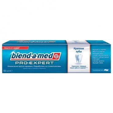 Зубная паста Blend-a-med Pro-Expert Крепкие зубы, тонизирующая мята