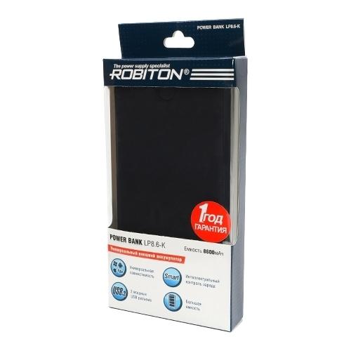 Аккумулятор ROBITON Power Bank LP8.6
