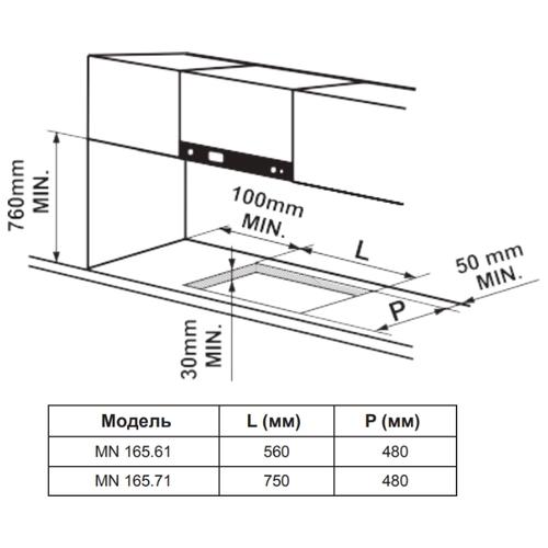 Варочная панель Zigmund & Shtain MN 165.71 B