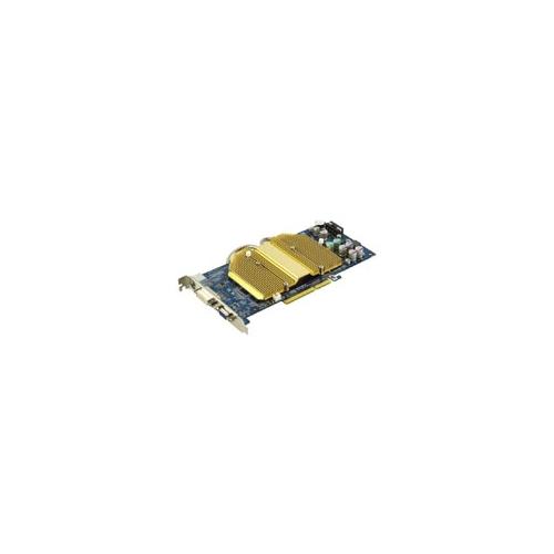 Видеокарта GIGABYTE GeForce 6800 325Mhz AGP 128Mb 700Mhz 256 bit DVI TV